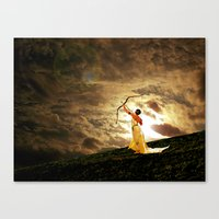 The Far Side Of Midnight Canvas Print