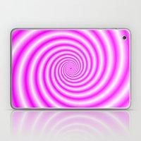 Pink And White Candy Swi… Laptop & iPad Skin