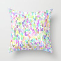 Pastell Pattern Throw Pillow