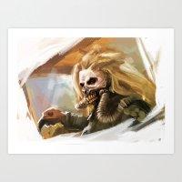 Immortan Joe Art Print
