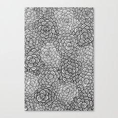 Scallop Bombs Canvas Print