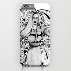 Wooden Swirls Slim Case iPhone 6s