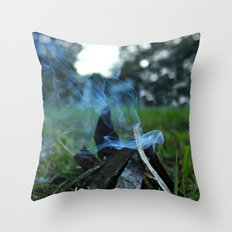 camp Throw Pillow