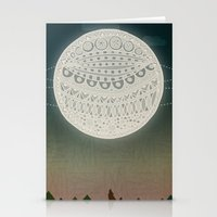 Light Up The Moon Stationery Cards