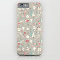 Baby Fox Pattern 03 iPhone 6 Slim Case