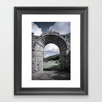 Faded Memories: Strata F… Framed Art Print