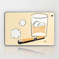 Cigar And Booze Laptop & iPad Skin