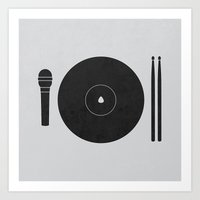 hungry to rock Art Print