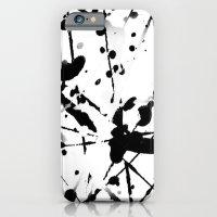 paint splatter 2 iPhone 6 Slim Case