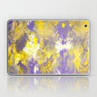 Purple and Yellow Laptop & iPad Skin