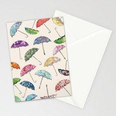 Umbrella & umbrellas Stationery Cards