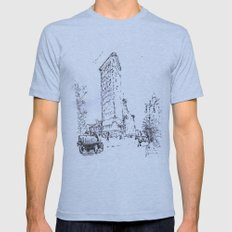Chicago Mens Fitted Tee Athletic Blue SMALL