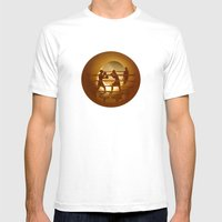 Boxing (Boxe) Mens Fitted Tee White SMALL
