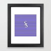 Sam Smith, SS Logo, T-sh… Framed Art Print