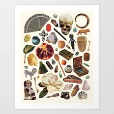 ARTIFACTS Art Print