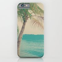 Coco Palm in the Beach  iPhone 6 Slim Case