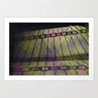 Abstract Mixed Media Des… Art Print