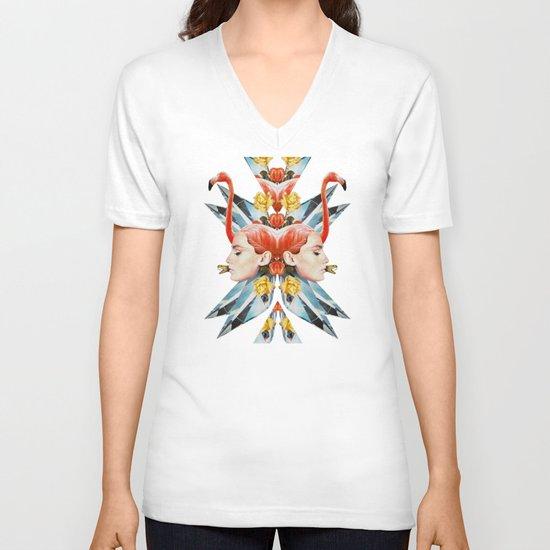 Grammar V-neck T-shirt