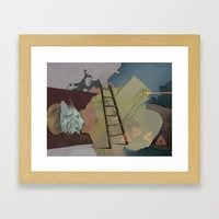 Coco's Lion Framed Art Print