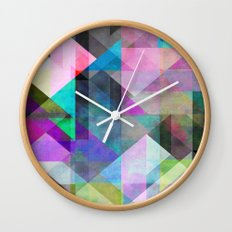 Color Blocking 3 Wall Clock