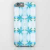 Lily flower pattern iPhone 6 Slim Case