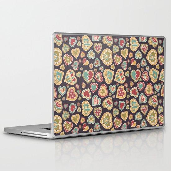I Heart Doodling Laptop & iPad Skin