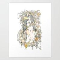 //blossom// Art Print