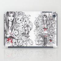 wonderland shattered iPad Case