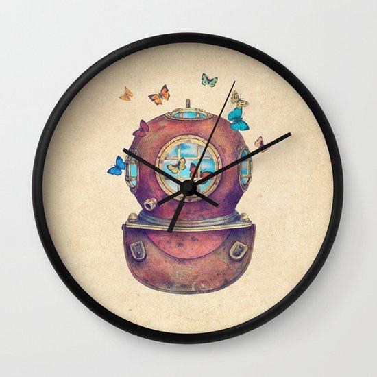 Inner Space Wall Clock