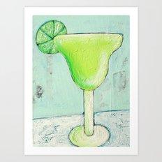 If life gives you limes... Art Print