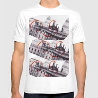 Anselmo Mens Fitted Tee White SMALL