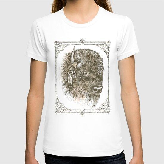 Portrait of a Buffalo T-shirt