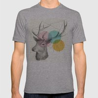 Stitch Doe Mens Fitted Tee Athletic Grey SMALL