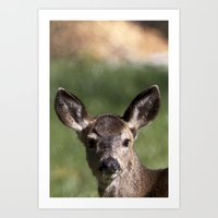 Hello Deer Art Print