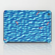 Fish in a maze iPad Case