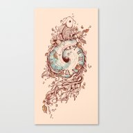 Canvas Print featuring A Temporal Existence by Norman Duenas