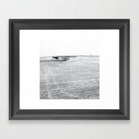 Over Under Framed Art Print