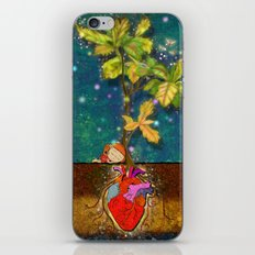 even though i buried my heart, my love has blossomed iPhone & iPod Skin