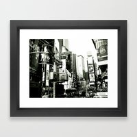 WHITEOUT : Life In The C… Framed Art Print