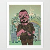 Fuc Le Police 2 Art Print