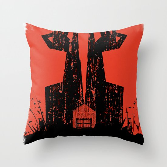 The Walking Dead. Throw Pillow