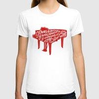 lyrics T-shirts featuring Piano lyrics by saralucasi