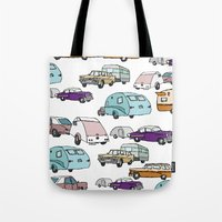Cars and Campers Tote Bag