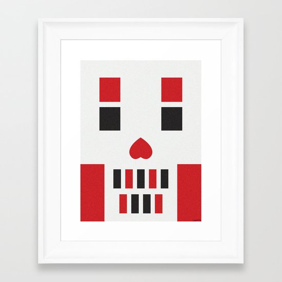 HADES HEART  Framed Art Print