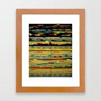 Jazz Head: Straight, No … Framed Art Print