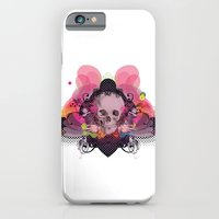 iPhone & iPod Case featuring Skull Rainbow by Les Hameçons Cibles