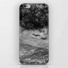 Black Tempest - Abtract Ocean Sea Pattern in Black And White iPhone & iPod Skin