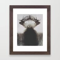 Framed Art Print featuring The Awakening by Old Hag