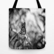 Papillion en  Noir Tote Bag