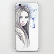 Wolf Shadow iPhone & iPod Skin